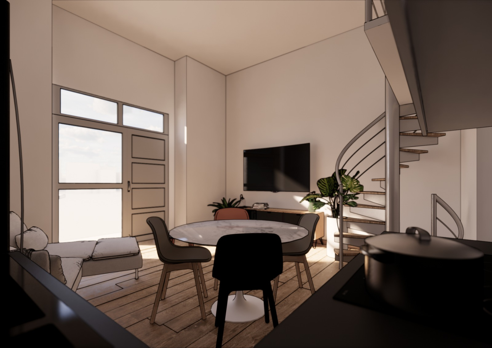 Rif. 564 – Loft nuova costruzione Via Villar Fiocchiardo n.15, Torino