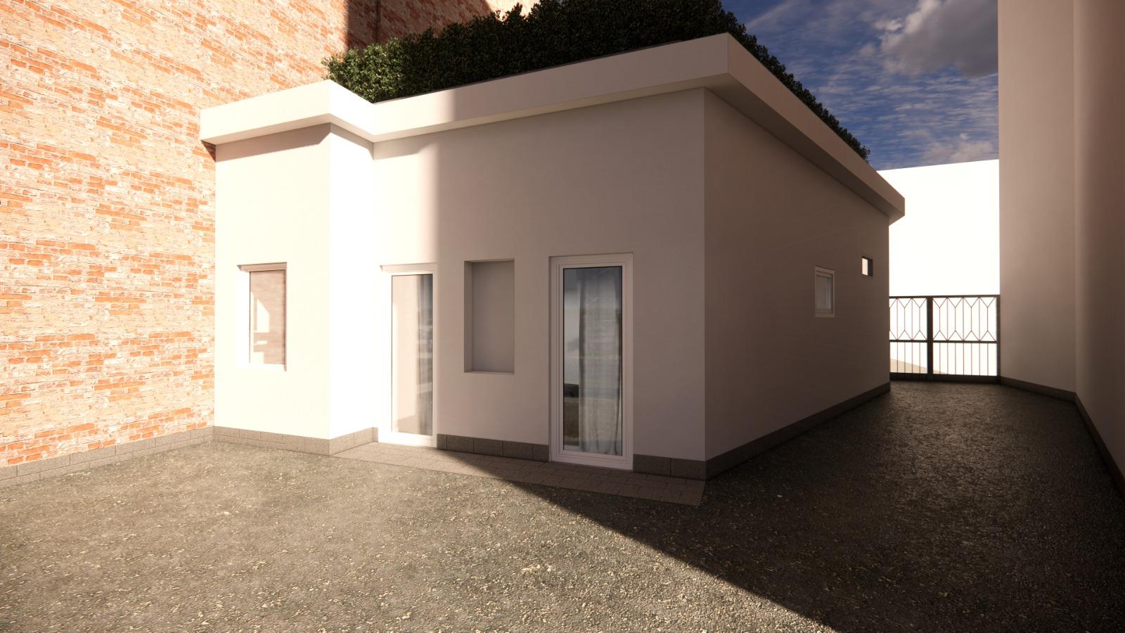 Loft con terrazzo da ristrutturare via Villar Focchiardo 15, Torino